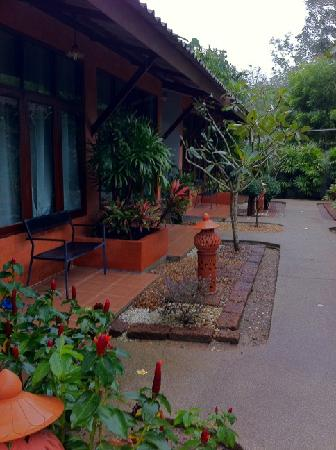 Phuket Siam Hostel: outside the rooms