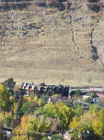The Wyndham Durango viewed from Fort Lewis College