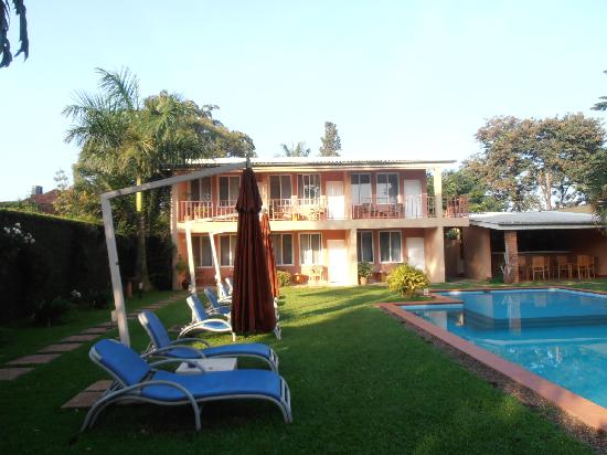 Urban by CityBlue Kampala, Uganda: la guest house vista dalla Reception