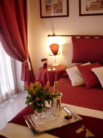 A Casa di Serena a San Pietro: Red room particular