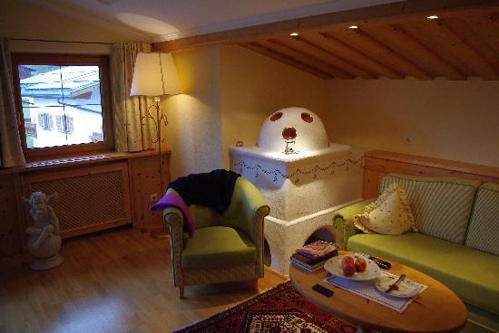 Alpenresort Schwarz : notre chambre type Fürst