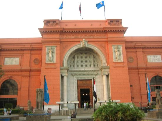 Jana Private Day Tours: the Egyptian museum filled with wonderful antiquities.