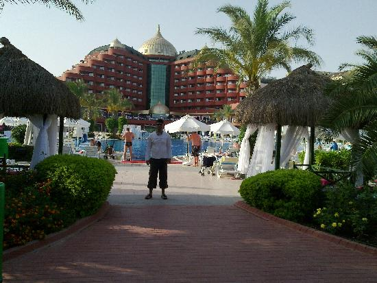 Delphin Palace Hotel: Back side