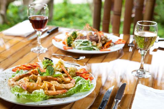 Clandestino Beach Resort: Seafood
