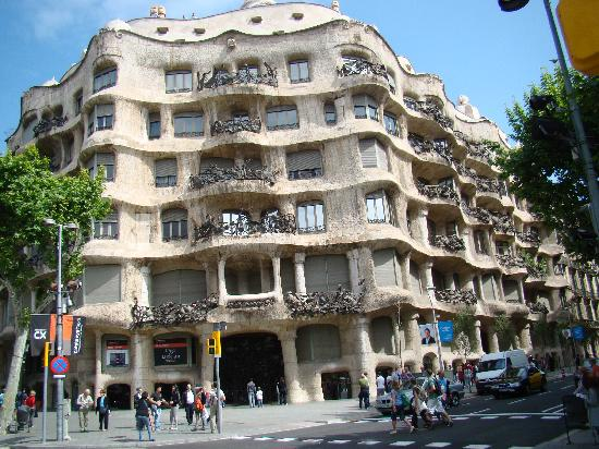 Barcelona, Spain: réalisation architecte gaudi
