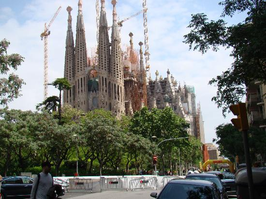 Barcelona, Spain: sagrada famillia architecte gaudi