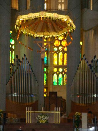 Barcelona, Spain: intérieur de la cathédrale