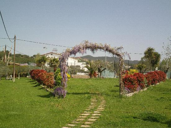 Tordera, İspanya: Vistas jardines