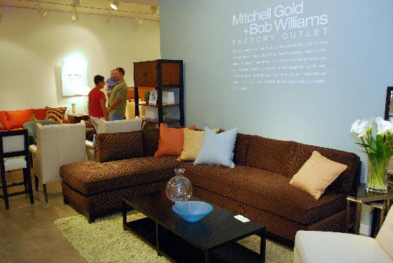 Delightful Hickory Furniture Mart: Mitchell Gold + Bob Williams Factory Outlet