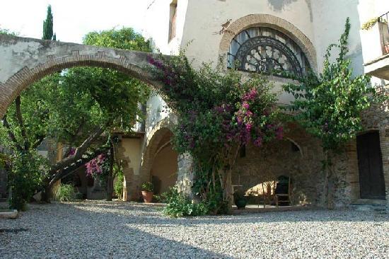 Apartamentos Can Gibert: Jardín