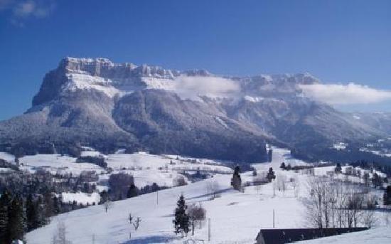 أوبيرج أو با دو لابيت: la chartreuse en hiver