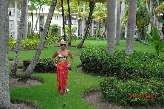 ClubHotel Riu Merengue : Thwe complex gardens