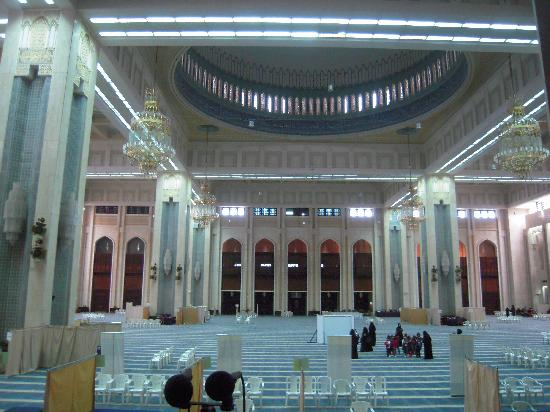 Grand Mosque: inside