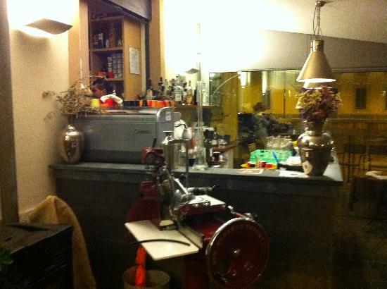 Osteria del Borgo : Il bar