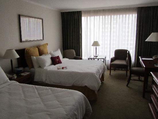 Crowne Plaza Hotel Santiago : Room at the Crown Plaza