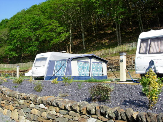 Barcdy Caravan & Camping Park: touring super pitches
