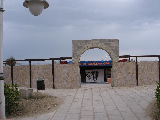 Blue Marine Village: Anfiteatro