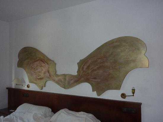 Hotel Villa Guadalupe: Room painting