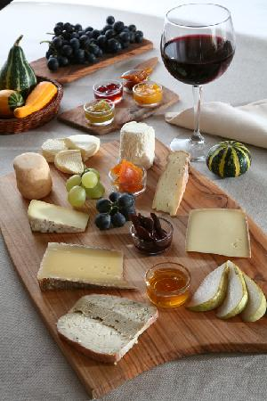 Grotto del Giuvan: Il tagliere dei formaggi