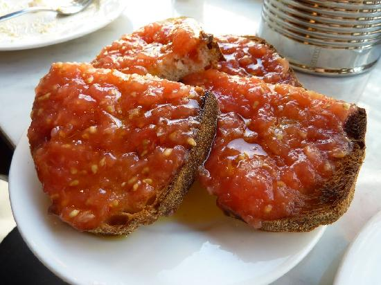 Jose Tapas Bar: Tomatoe Bread
