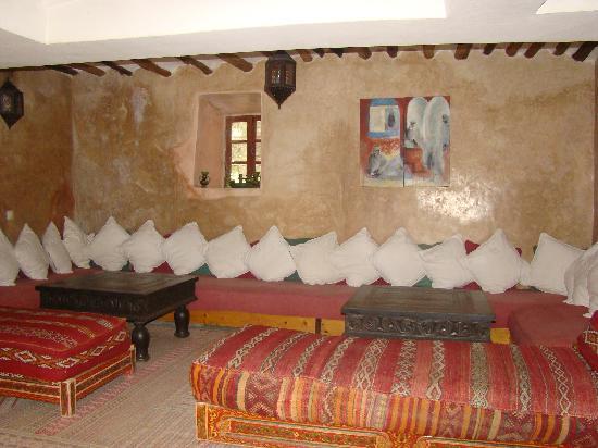 Riad Dar Nimbus: le salon