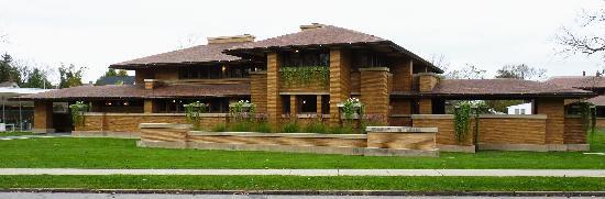 Frank Lloyd Wright's Darwin D. Martin House Complex: Frank LLoyd Wright's  Darwin Martin House