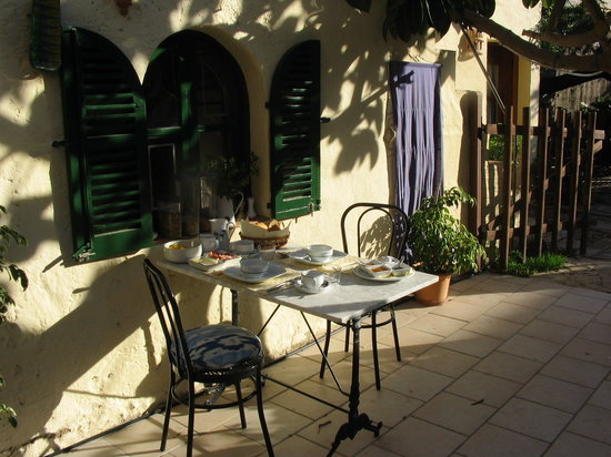 Port d'Andratx, สเปน: Breakfast on the Terrace