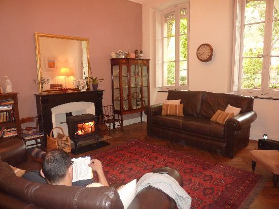 Les Marguerites : Cosy sitting room