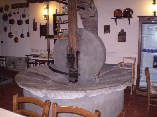 Casa Vacanze Il Frantoio: sala dell' antico frantoio