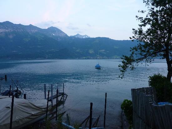 Hotel Restaurant Beatus : Boats near the hotel