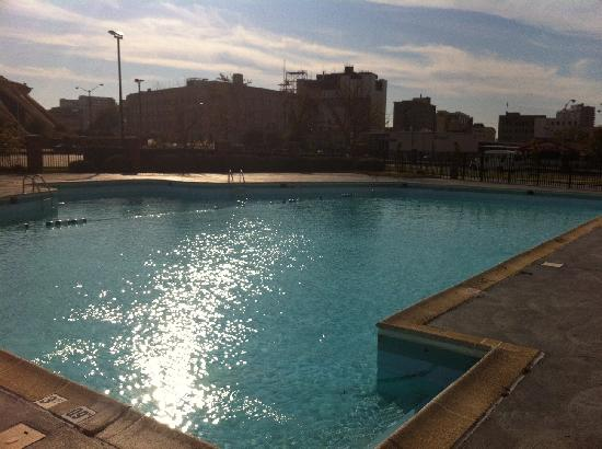 Wyndham Garden Norfolk Downtown: Pool is open seasonally.  Very nice!