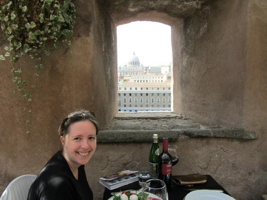Best Restaurant View In Rome Picture Of Caffetteria
