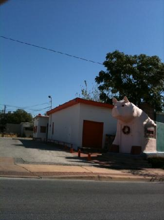the original Pig Stand in Southtown