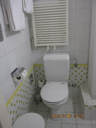スイス ホテル ジュネーブ, トイレ シャワー