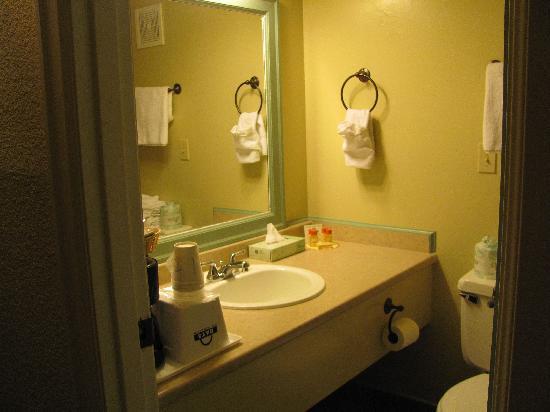 Days Inn Mt. Vernon: Clean bath