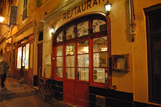 Chez Palmyre: L'entrata
