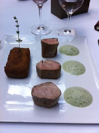 Le Chapon Fin: filet mignon de porc