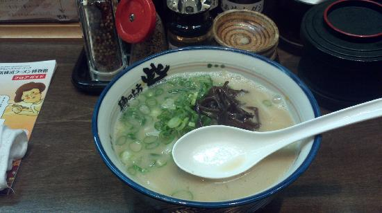 Shinyokohama Ramen Museum: Fresh Noodle Soup ready..