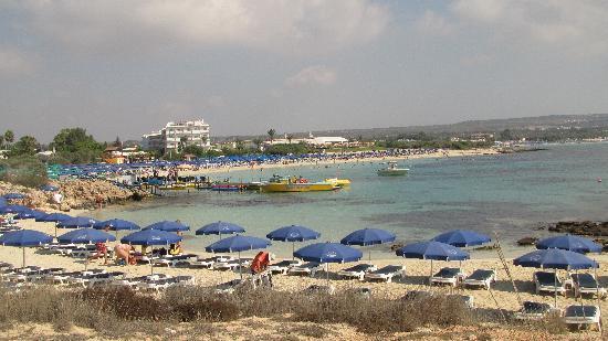 Asterias Beach Hotel: Пляж отеля Астериас Бич
