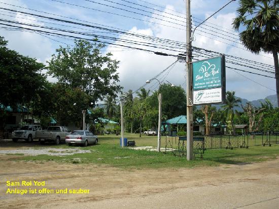 Koram Resort Samroiyod: Anlage von der Strasse
