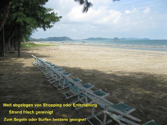 Koram Resort Samroiyod: Strand, mal sauber 1