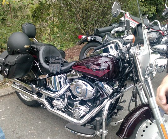 Double Shot Motorcycle Tours: My ride ....