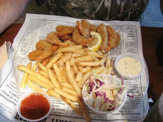 Bubba Gump Shrimp Co. Restaurant and Market: Mama Blue's Southern Charmed Fried Shrimp