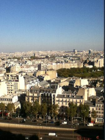 Pullman Paris Montparnasse : View from our window