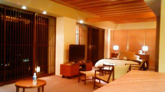 Hotel Granvia Kyoto: just half the room