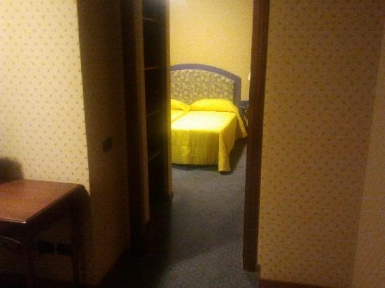 Park Hotel Blanc et Noir : Stanza