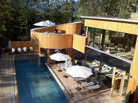 Naturhotel Waldklause: Wellness-Oase - genug Platz für alle