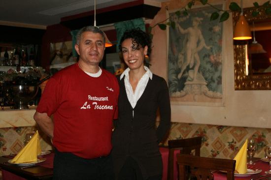La Toscana : Chef und Chefin