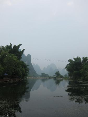 Yangshuo Phoenix Pagoda Fonglou Retreat: 鳳樓村美麗的景色