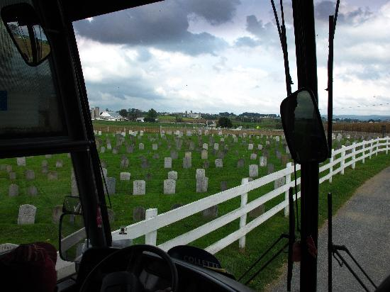 Lancaster County, PA: Amish cemetery